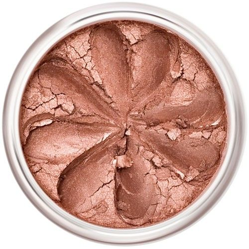 Lily Lolo Rosy Apple Blush: Gluten free, vegan. A perfect, shimmery pink-brown blush.