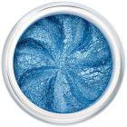Lily Lolo Blue Lagoon Eyes: Vegan Friendly, Gluten Free. A sparkly medium blue mineral eyeshadow.