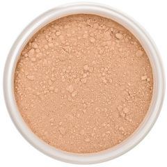 Lily Lolo Cool Caramel Mineral Foundation: Gluten free, vegan. A medium foundation shade with cool undertones.