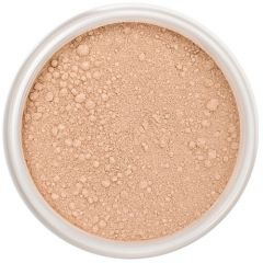 Lily Lolo Popsicle Mineral Foundation: Gluten free, vegan. A light-medium foundation shade with cool undertones.