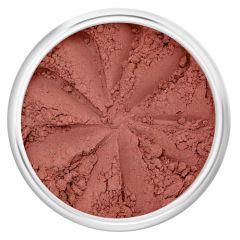 Lily Lolo Sunset Blush: Gluten free.  Demi-matte dusky rose pink.